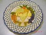 Click here to enlarge image and see more about item 7581: Raymond Waites Studio Still Life Salad Plates