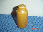 Denby Rams Head Golden Brown/Canterbury Salt Shaker