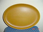 Denby Rams Head Golden Brown/Canterbury Lg Oval Platter