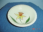 Click here to enlarge image and see more about item 880: Blue Ridge Daffodil Dessert Bowl