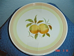Click here to enlarge image and see more about item 896: Federalist Tangerine Dinner Plates (Sears Roebuck)