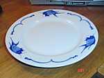 Click here to enlarge image and see more about item 898: Canton Fish Made in China Dinner Plates