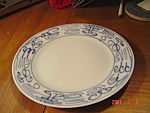 Click here to enlarge image and see more about item 900: Canton Express Double Happiness Fish Salad Plates