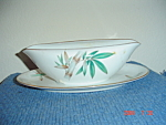Noritake Canton Gravy Boat w/Attached Tray