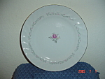 Click here to enlarge image and see more about item 923: Royal Swirl Fine China Dinner Plates
