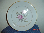 Click here to enlarge image and see more about item 934: Noritake Lindrose Dinner Plates