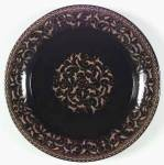 Click here to enlarge image and see more about item 9887: Franciscan Jamoca Bread and Butter Plates