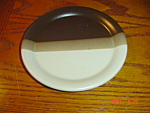 Click here to enlarge image and see more about item 98: McCoy Sandstone Dinner Plates