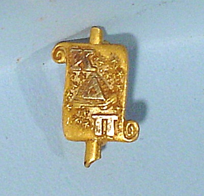 10kt Gold Fraternity Lapel Pin (Image1)