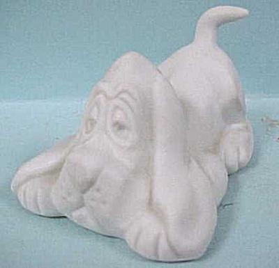 1975 Hallmark Bisque Porcelain Dog (Image1)