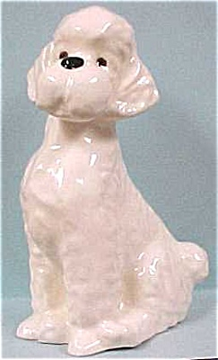 White Pottery Poodle