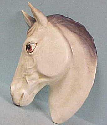 1950s/1960s Japan Horse Head Wall Hanger (Image1)