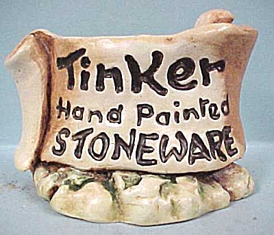 Tinker Tinkerware Dealer Counter Sign (Image1)