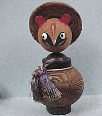 Vintage Wood Cat (Image1)