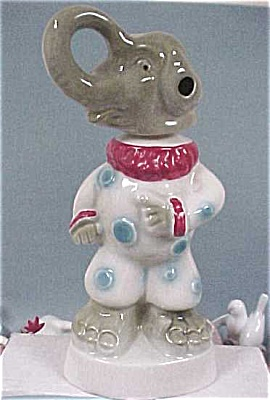 1968 Jim Beam Clown Elephant Decanter (Image1)