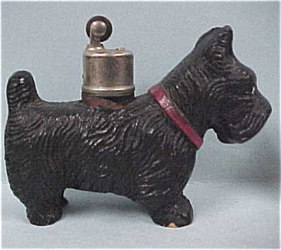 Wood Composite Scottish Terrier Dog Lighter (Image1)