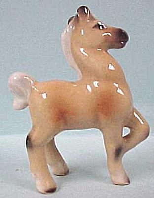 1950s Pottery Palomino Miniature Foal (Image1)