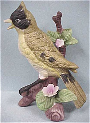 Matte Ceramic Jay Type Bird (Image1)