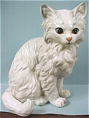 Lefton White Persian
