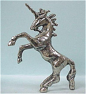 Miniature Metal Unicorn