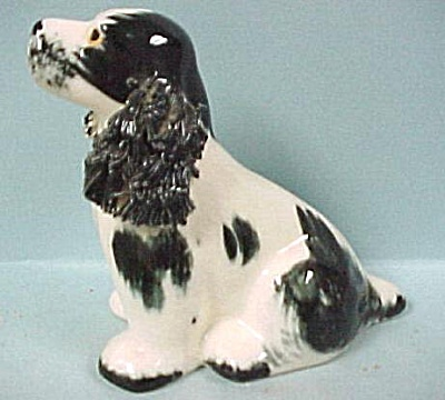 1950s Chase Japan Pottery Spaniel Dog