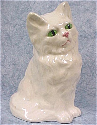 1950s Pottery Cat (Image1)