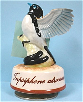 Small Ceramic Bird Music Box (Image1)