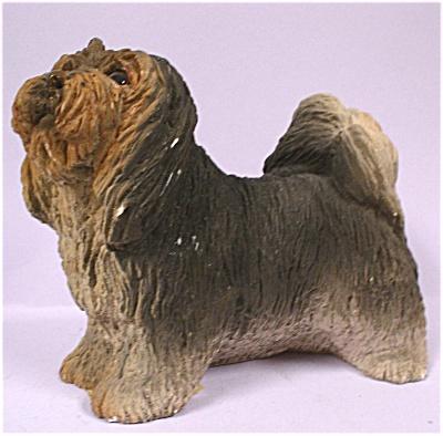 1984 United Design Resin Lhasa Apso Dog (Image1)