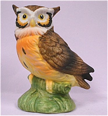 1980s Lefton Miniature Owl
