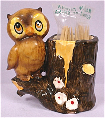 Owl Toothpick Holder (Image1)