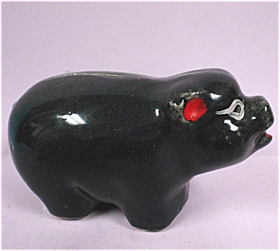 Small Pottery Piggy Bank