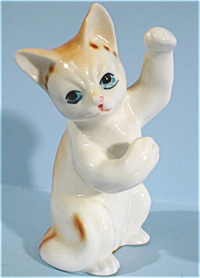 1980s/1990s Enesco Playing Cat