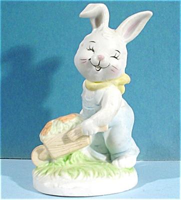 Flambro Taiwan Rabbit With Wheelbarrow (Image1)