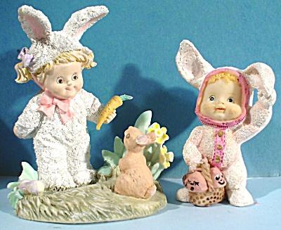 Resin Children in Bunny Suits (Image1)