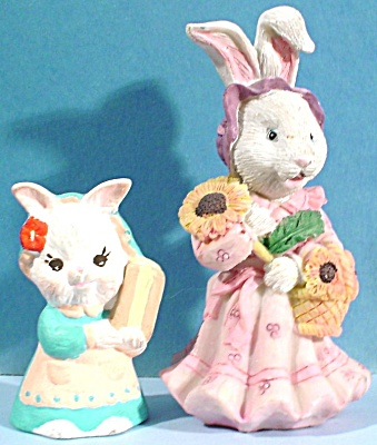 Lady Bunny Rabbit Pair