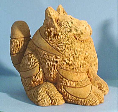 1984 Smidgens Pottery Cat (Image1)
