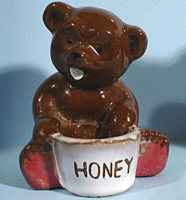 1950s Redware Bear with Honey (Image1)