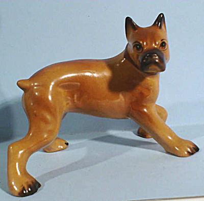 1950s Arnart Japan Pottery Boxer Dog (Image1)