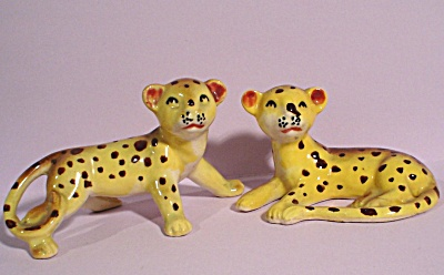 1950s/1960s Lion Cub Pair (Image1)