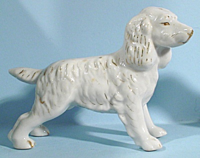 1930s/1940s Japan Spaniel Dog Figurine (Image1)