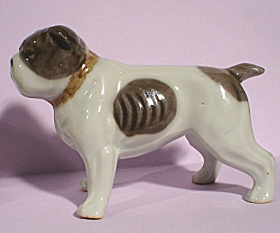 1930s Japan Porcelain Bulldog