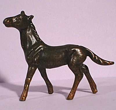 Miniature Pot Metal Horse Foal (Image1)