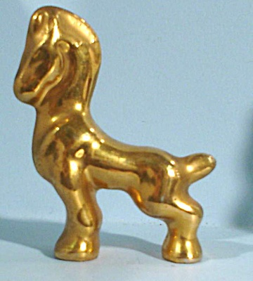 Miniature Pottery Horse (Image1)