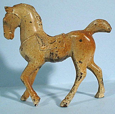 1930s/1940s Cast Metal Horse (Image1)
