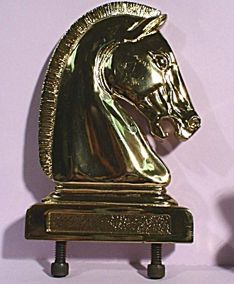 Brass Cast Horse Head