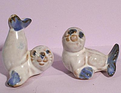 Redware Seal Pair (Image1)