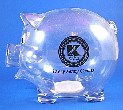 Kroger Plastic Pig Bank (Image1)