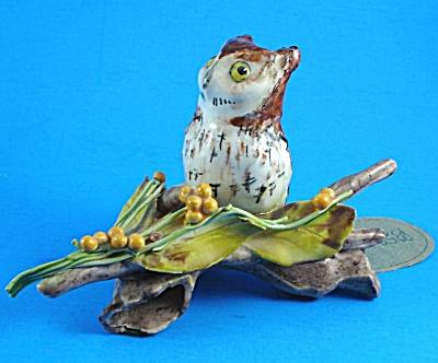 1982 Handmade Pottery BK Screech Owl (Image1)