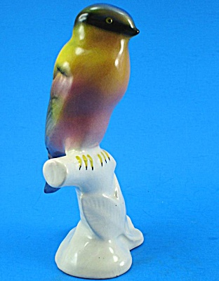 1940s/1950s Pottery Bird Figurine (Image1)