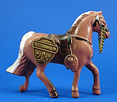 1940s/1950s Painted Metal Western Horse